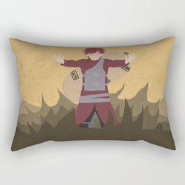 Kawaii Naruto Shippuden v68 Rectangular Pillow