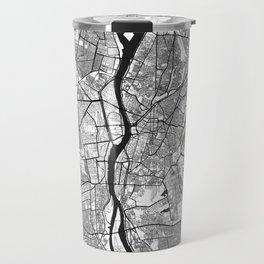 Cairo Map Gray Travel Mug