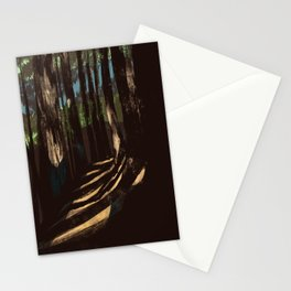 Path Through the Redwoods Stationery Cards