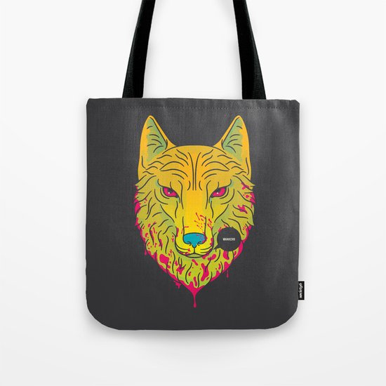 The Unbridled Anger of a Decapitated Direwolf Tote Bag