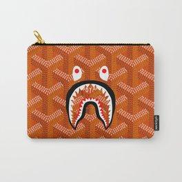 Goyard Bape Orange Carry-All Pouch