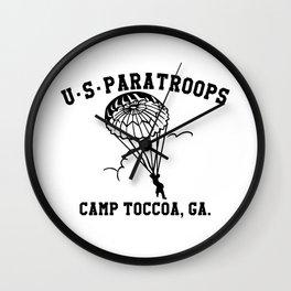 Camp Toccoa PT Shirt Wall Clock