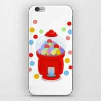 gumball iPhone & iPod Skins featuring Gumball Machine by elledeegee