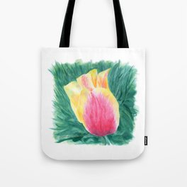 Tropical Tulip by Teresa Thompson Tote Bag