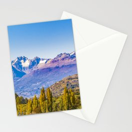 Patagonia Landscape, Aysen, Chile Stationery Cards