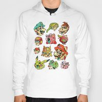stickers Hoodies featuring Smashed Bros. by Josh Ln