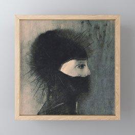 Armor - Odilon Redon Framed Mini Art Print