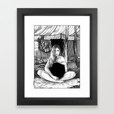 asc 671 - Le non-globe (Found in the desert) Framed Art Print