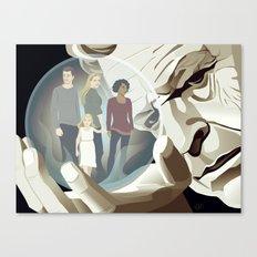 Walter's World Canvas Print