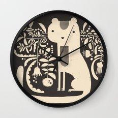 FLAMBOYANT WHISKERS Wall Clock