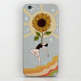 Joyful heart iPhone Skin