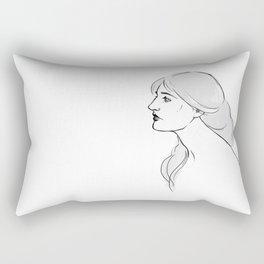 Preraphaelite Rectangular Pillow