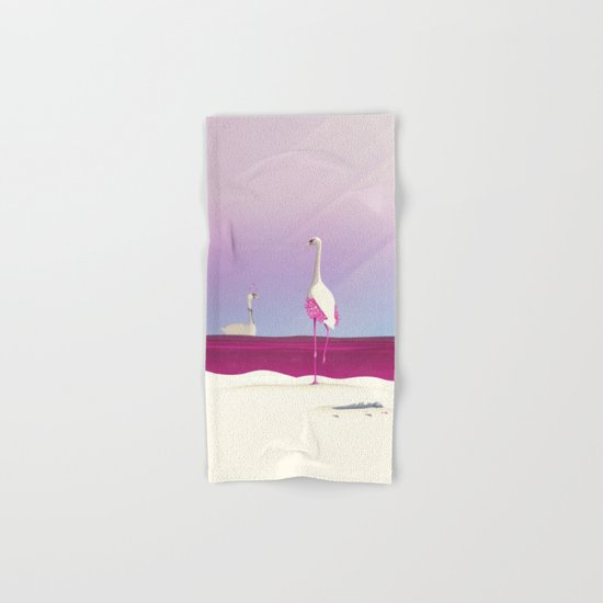 Flamingo Fatale Hand & Bath Towel