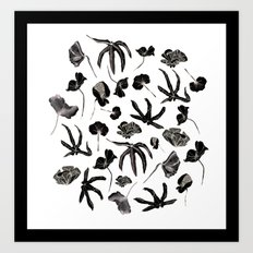 Plastic jungle pattern Art Print