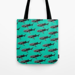 Big Fish, B & W Tote Bag