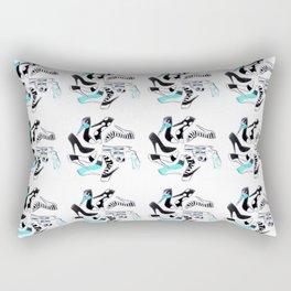 Bad Girlz Club Rectangular Pillow
