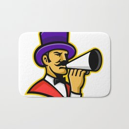 Circus Ringleader or Ringmaster Mascot Bath Mat