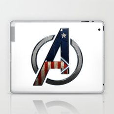 UNREAL PARTY 2012 THE AVENGERS  CAPTAIN AMERICA  Laptop & iPad Skin