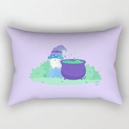 Mushroom Witch | Potion Making 101 Rectangular Pillow