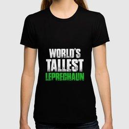 World's Tallest Leprechaun Gnomes St Patricks Day T-shirt