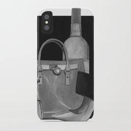 Fashion Illustration - Ink Wash iPhone Case