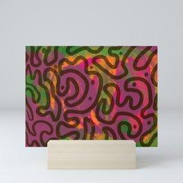 Abstract Pattern Mini Art Print