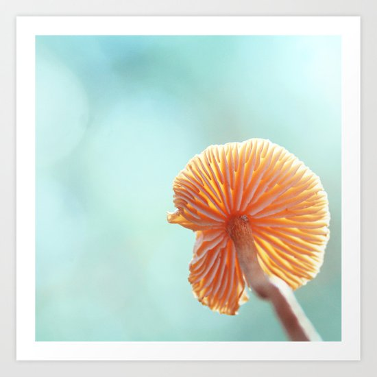 Tiny Tropical Cricket Canopy Art Print
