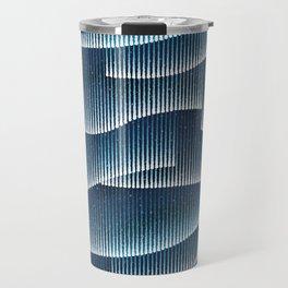 Aurora Borealis_Sky Blue Lights Travel Mug