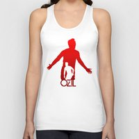 arsenal Tank Tops featuring Mesut Ozil by Sport_Designs