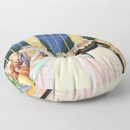 Coronation by Rudolf Koivu  Floor Pillow