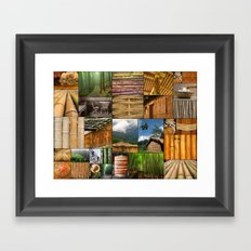 The Amazing World of Bamboo Framed Art Print