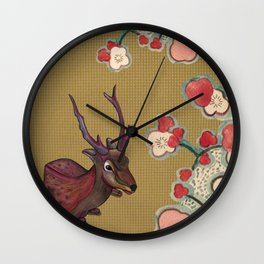 It's Better in the Shade Wall Clock