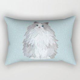 Aurora Ragdoll Rectangular Pillow