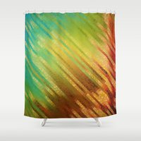 spring Shower Curtains featuring Spring  by SensualPatterns