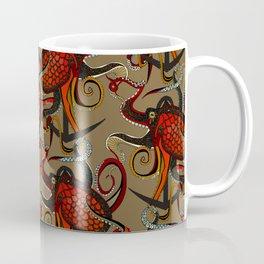 octopus ink umber Coffee Mug
