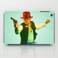 indiana jones iPad Cases featuring Indiana Solo Variant R by Parissis