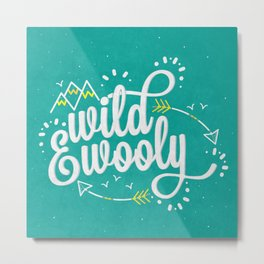 Wild & Wooly II Metal Print