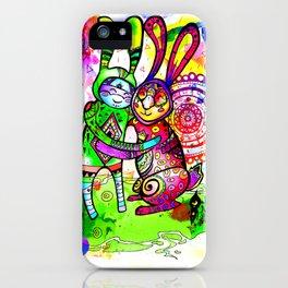 big hugs iPhone Case