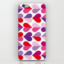 Love and Kisses in Ultra Violet iPhone Skin