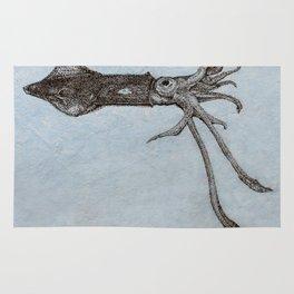 Longfin Squid Rug