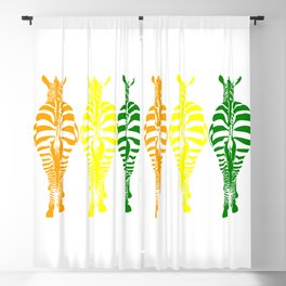 Technicolor Dream Blackout Curtain