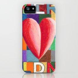 One Love MCR/LDN iPhone Case