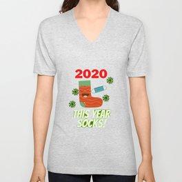 2020 Socks Unisex V-Neck