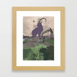 The Witches Framed Art Print