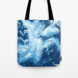Blue Djungle Tote Bag