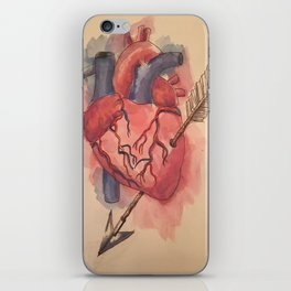 Arrow Heart iPhone Skin