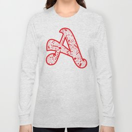 Scarlet A - Version 2 Long Sleeve T-shirt