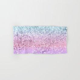 Unicorn Girls Glitter #4 #shiny #pastel #decor #art #society6 Hand & Bath Towel