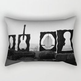 Music by the Sea Rectangular Pillow