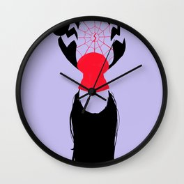 Cindy Moon Wall Clock